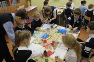 мастер-класс дают семиклассники