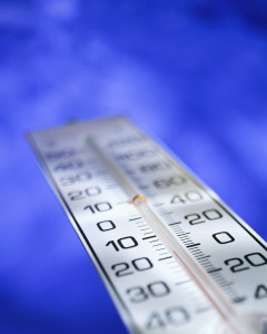 Fahrenheit and Celsius Thermometer
